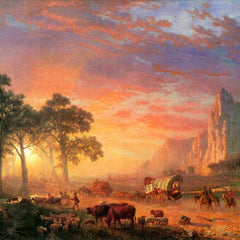The Museum Outlet - The Oregon Trail by Bierstadt