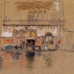 The Museum Outlet - The Palace, white and pink by Whistler