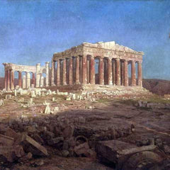 The Museum Outlet - The Parthenon by Frederick Edwin Church