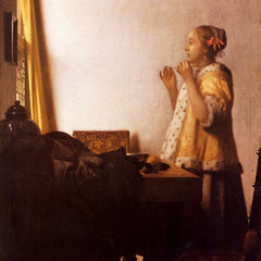 The Museum Outlet - The Pearl Necklace by Vermeer