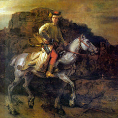 The Museum Outlet - The Polish Rider by Rembrandt
