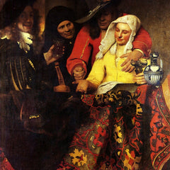 The Museum Outlet - The Procuress by Vermeer