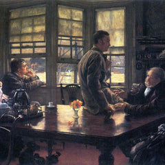 The Museum Outlet - The Prodigal Son in Modern Life- The farewell by Tissot