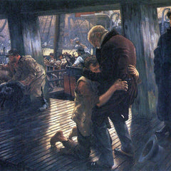 The Museum Outlet - The Prodigal Son in Modern Life - The Return by Tissot