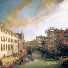 The Museum Outlet - The River of Mendicanti by Canaletto