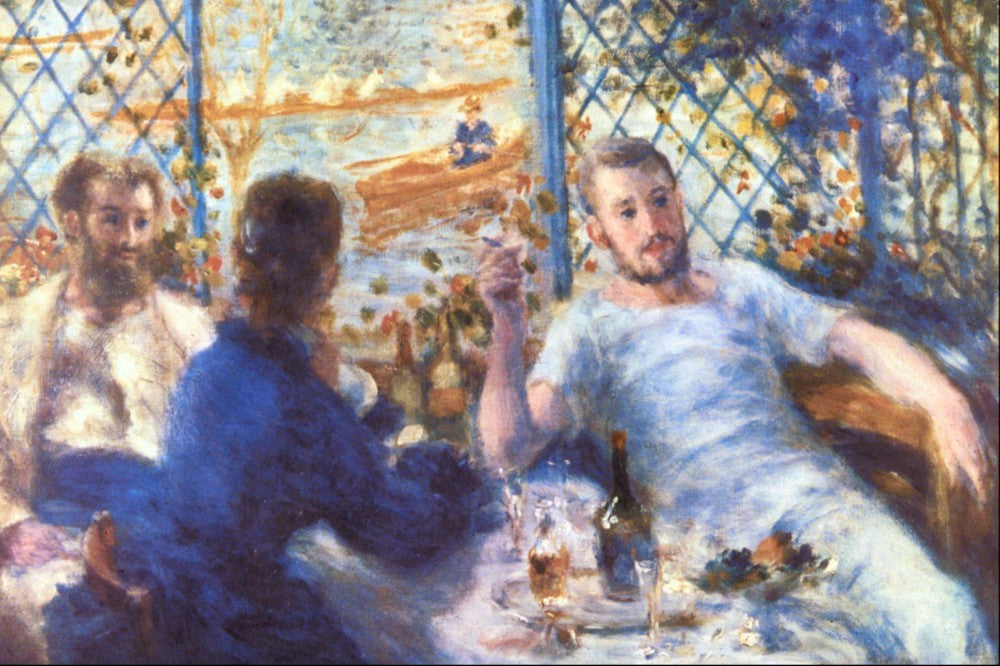 The Museum Outlet - The Rowers Lunch by Renoir