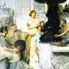 The Museum Outlet - The Sculpture Gallery detail by Alma-Tadema