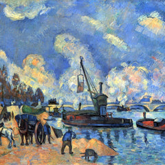 The Museum Outlet - The Seine at Bercy by Cezanne