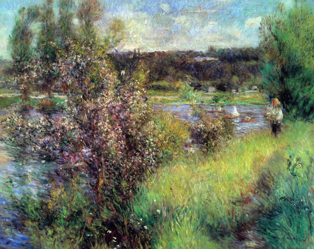 The Museum Outlet - The Seine at Chatou by Renoir