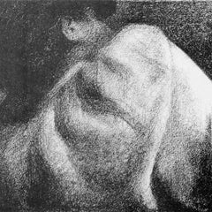 100% Hand Painted Oil on Canvas - The Sleeper by Seurat
