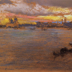 The Museum Outlet - The Storm at Sunset by Whistler