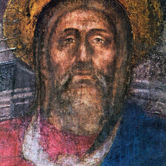 100% Hand Painted Oil on Canvas - The Trinity Detail by Masaccio