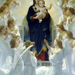 The Museum Outlet - The Virgin With Angels