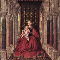 The Museum Outlet - The Virgin and Child by Jan Van Eyck