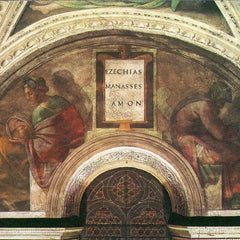 The Museum Outlet - The ancestors of Christ - Bezel with Ezekial, Manasseh and Amon by Michelangelo