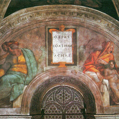 The Museum Outlet - The ancestors of Christ - Hosiah, Jethan and Achaz by Michelangelo