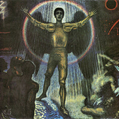 100% Hand Painted Oil on Canvas - The angel of the Court by Franz von Stuck