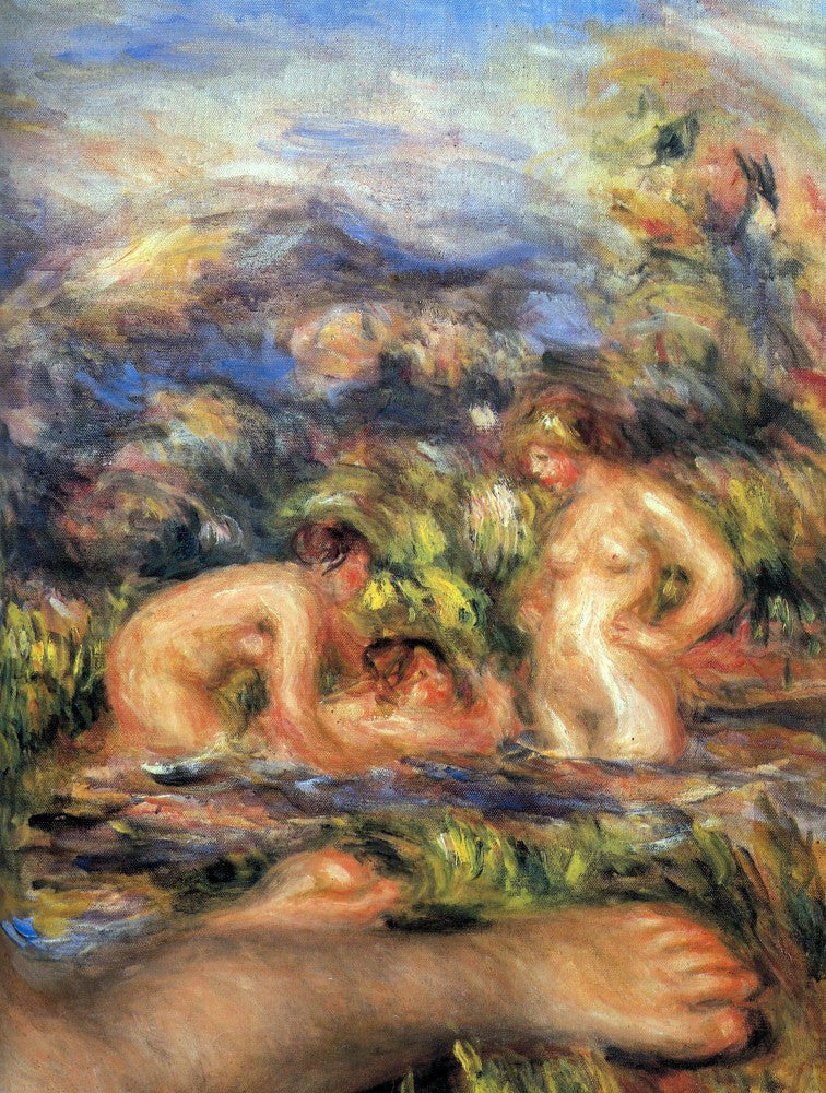 The Museum Outlet - The bathers (Detail) by Renoir