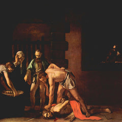 The Museum Outlet - The beheading of John the Baptist by Caravaggio