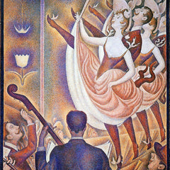 100% Hand Painted Oil on Canvas - The big show by Seurat