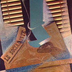 100% Hand Painted Oil on Canvas - The blind by Juan Gris