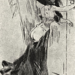 The Museum Outlet - The bolt by Felicien Rops