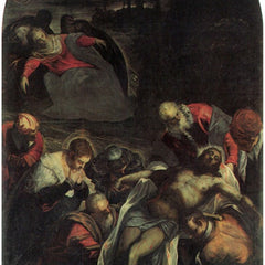 The Museum Outlet - The burial by Tintoretto