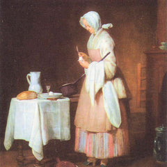 The Museum Outlet - The caring maid by Jean Chardin