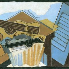 100% Hand Painted Oil on Canvas - The cloud by Juan Gris