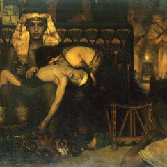 The Museum Outlet - The death of the First Born by Alma-Tadema