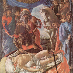 The Museum Outlet - The discovery of the beheaded Holofernes by Botticelli