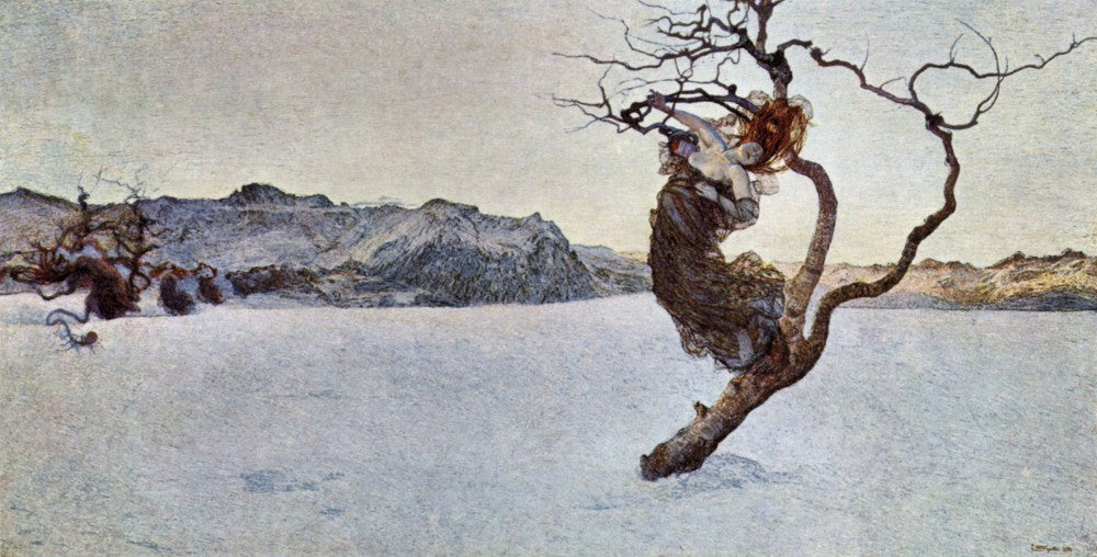 The Museum Outlet - The evil mothers [1] by Giovanni Segantini