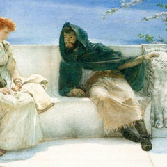 The Museum Outlet - The explaination by Alma-Tadema