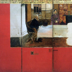 The Museum Outlet - The family picture of Epps, panels 1-3 by Alma-Tadema