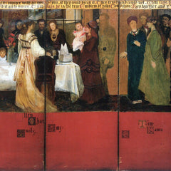 The Museum Outlet - The family picture of Epps, panels 4-6 by Alma-Tadema