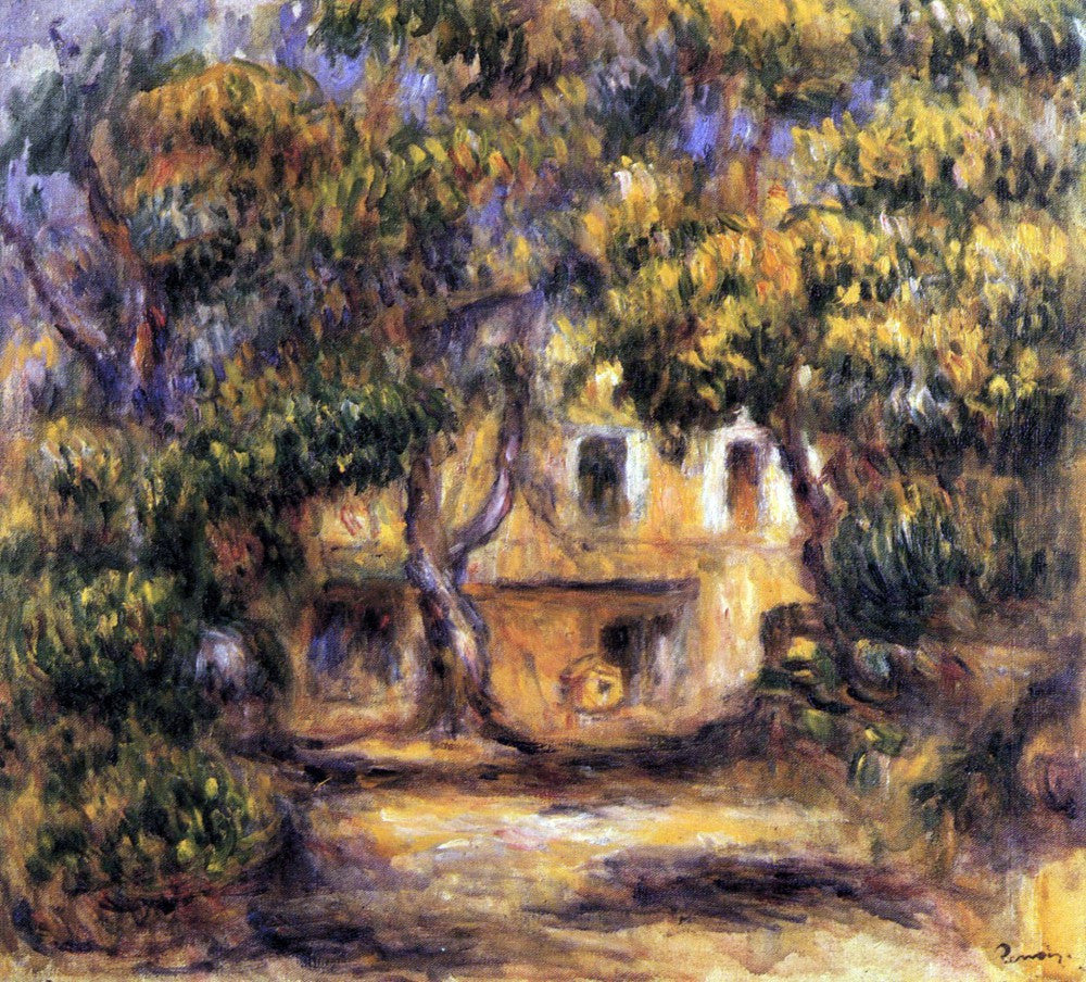 The Museum Outlet - The farm at Les Collettes by Renoir