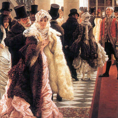 The Museum Outlet - The fashionable woman by Tissot