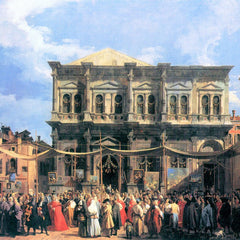 The Museum Outlet - The festival Rochus by Canaletto