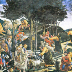 The Museum Outlet - The flight of Moses by Botticelli