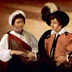 The Museum Outlet - The fortune teller by Caravaggio