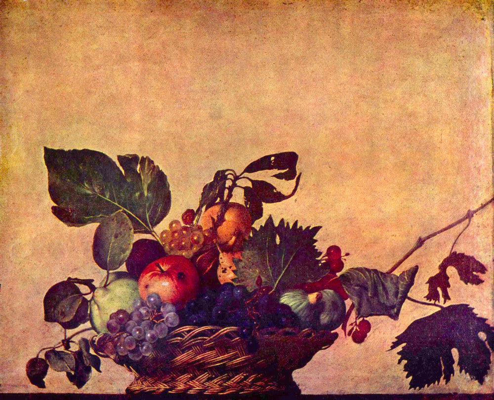 The Museum Outlet - The fruit basket by Caravaggio