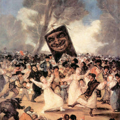 The Museum Outlet - The funeral of Sardina by Goya