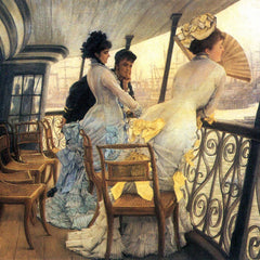 The Museum Outlet - The gallery of the H.M.S. Calcutta by Tissot