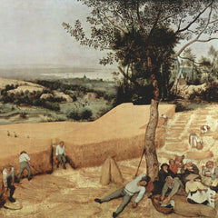 The Museum Outlet - The grain harvest by Pieter Bruegel