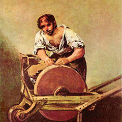 The Museum Outlet - The grinder by Goya