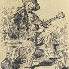 The Museum Outlet - The guitar Player by Manet