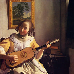 The Museum Outlet - The guitar player by Vermeer