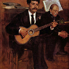 The Museum Outlet - The guitarist Pagans and Monsieur Degas by Manet