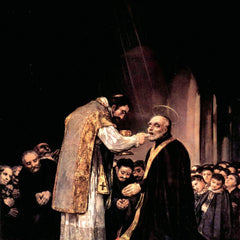 The Museum Outlet - The last communion of St. Joseph of Calasanza by Goya