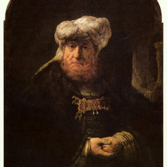 The Museum Outlet - The leper king Uzziah by Rembrandt